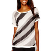 Worthington® Short-Sleeve Sweater
