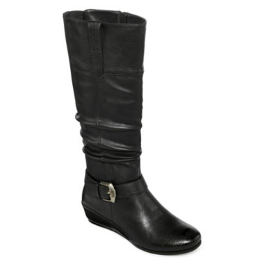 jcpenney.com | Yuu™ Simona Wedge Buckled Womens Boots