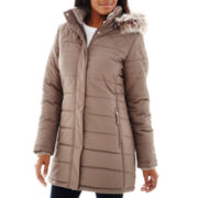 Free Country® Long Puffer Jacket