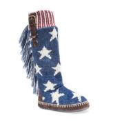 Muk Luks Angela Stars Slippers