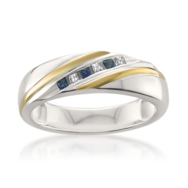 jcpenney.com | Mens 1/5 CT. T.W. White Diamond 14K Gold Wedding Band