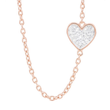 jcpenney.com | 1/10 CT. T.W. White Diamond Statement Necklace