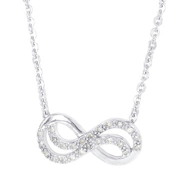 jcpenney.com | 1/8 CT. T.W. White Diamond Statement Necklace