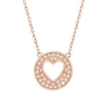 jcpenney.com | 1/6 CT. T.W. White Diamond Statement Necklace