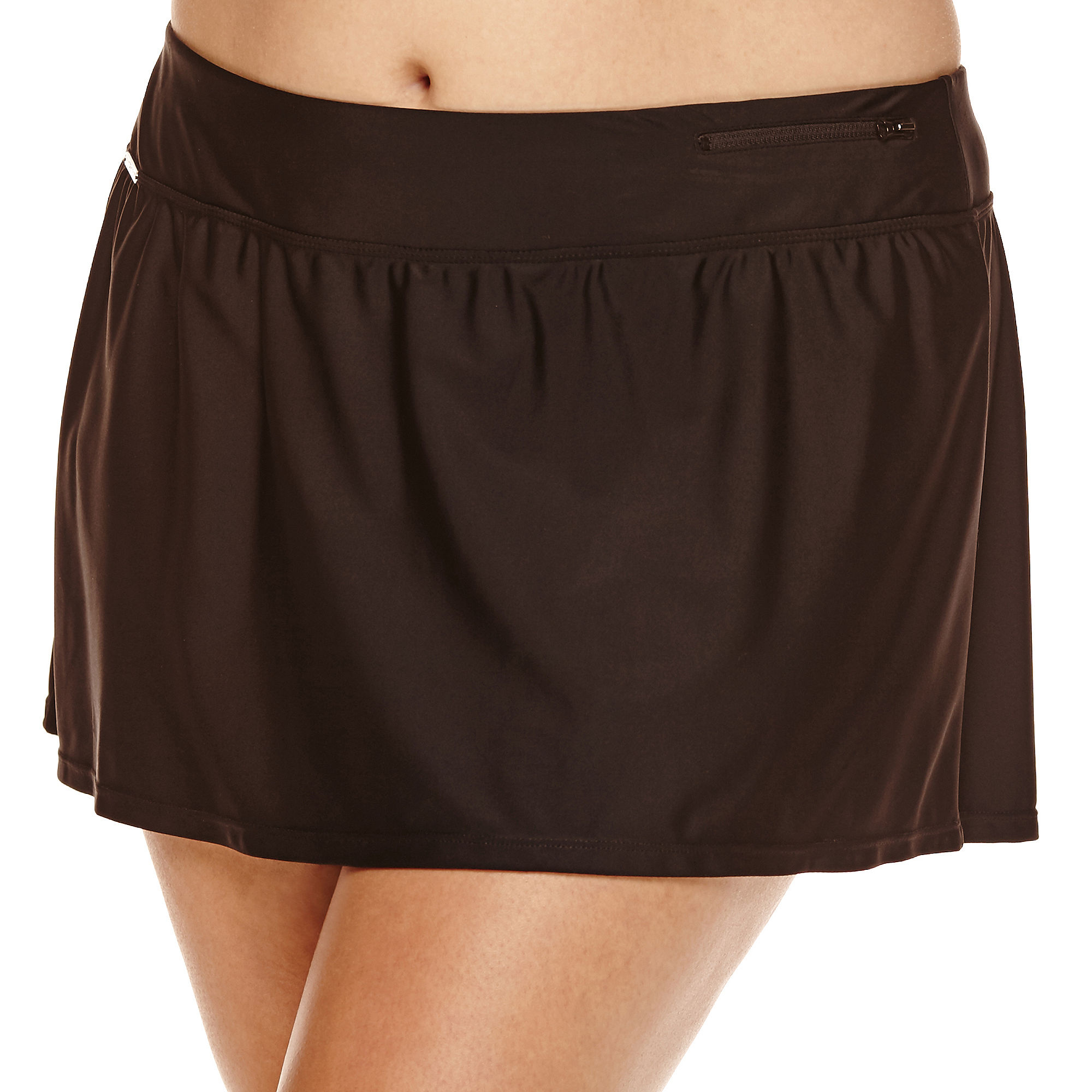 Zeroxposur Knit Action Swim Skirt Plus | Clothing