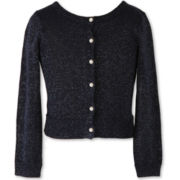 Speechless Sweater Knit Cardigan - Big Kid