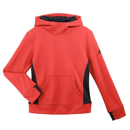 Adidas Long Sleeve Sweatshirt - Big Kid Girls