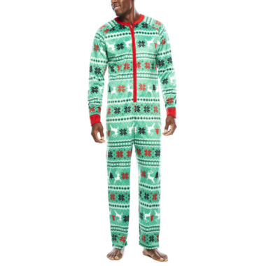 jcpenney.com | North Pole Trading Co. Family Pajamas Union Suit - Men's