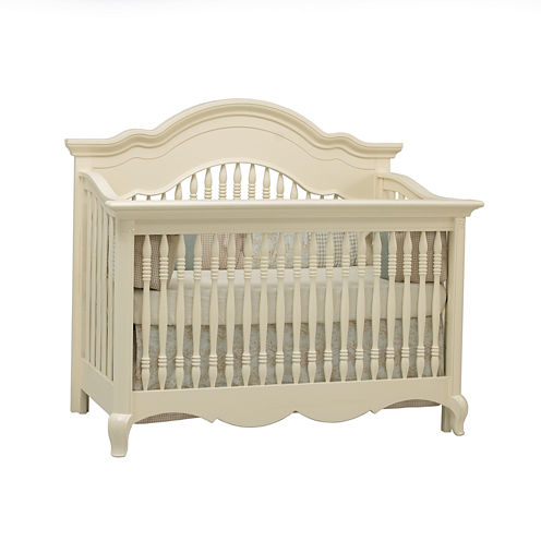 Suite Bebe Julia Lifetime 4-in-1 Convertible Crib - Linen