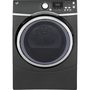 jcpenney.com | GE® 7.5 cu. ft. Capacity Front-Load Electric Dryer with Steam