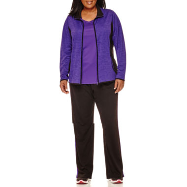 jcpenney.com | Made for Life™ Mesh Jacket, V-Neck Tee or Mesh Pants - Plus