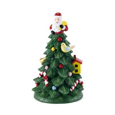 Avanti Spode Christmas Tree Toothbrush Holder