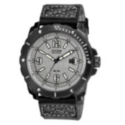 Drive from Citizen® Eco-Drive™ HTM Mens Gray Nylon Strap Watch BM7276-01H