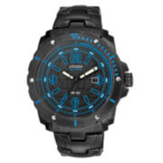 Drive from Citizen® Eco-Drive® WDR Mens Black & Blue Watch BM7277-50E