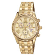 Drive from Citizen® Eco-Drive® AML Womens Gold-Tone Boyfriend Watch FB1362-59P