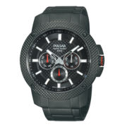 Pulsar® Mens Titanium Multifunction Bracelet Watch