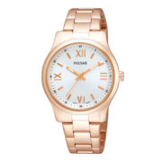 Pulsar® Womens Rose-Tone Bracelet Watch