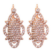 telio! by Doris Panos Rose-Tone Precious Nest Earrings