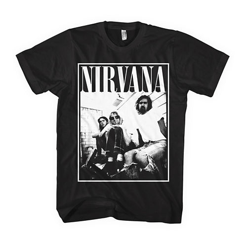 Nirvana Graphic Short-Sleeve Graphic T-Shirt