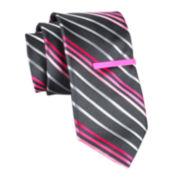 JF J. Ferrar® Striped Tie