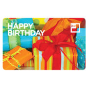 $50 Happy Birthday Presents Gift Card