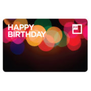 Happy Birthday Lights Gift Card