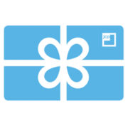Blue Bow Gift Card