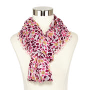 Allover Floral-Print Scarf