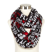 Word Infinity Scarf
