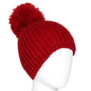 Mixit™ Cable Knit Pom-Pom Hat
