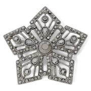 Liz Claiborne® Marcasite Star Pin