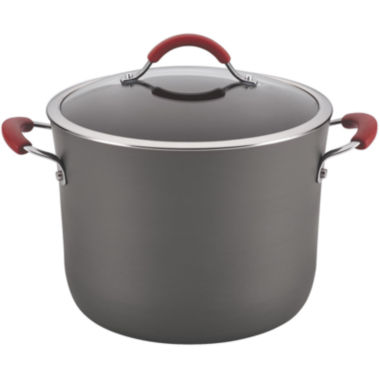 jcpenney.com | Rachael Ray® Cucina 10-qt. Hard-Anodized Covered Stock Pot