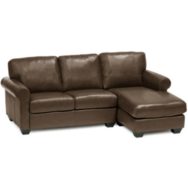 jcpenney.com | Leather Possibilities Roll-Arm 2-pc. Left-Arm Sectional