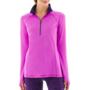 Xersion™ Half-Zip Reflective Pullover