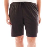 Made For Life™ French Terry Cargo Bermuda Shorts - Plus