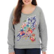 Arizona Embellished Sweatshirt - Plus