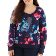 Arizona Embellished Sweatshirt - Plus