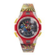 Power Rangers Kids Flashing Digital Watch