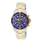 Invicta® Pro Diver Mens Two-Tone Stainless Steel Chronograph Watch 1773