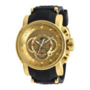 Invicta® S1 Rally Mens Black Silicone Chronograph Sport Watch 19326