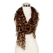 Leopard-Print Wrap