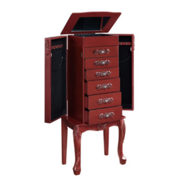 jcpenney.com | Red Jewelry Armoire