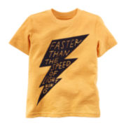 Carter's® Lightning Graphic Tee - Baby Boys 3m-24m