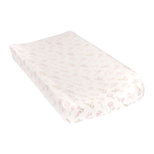 Trend Lab® Garden Gnome Flannel Changing Pad Cover
