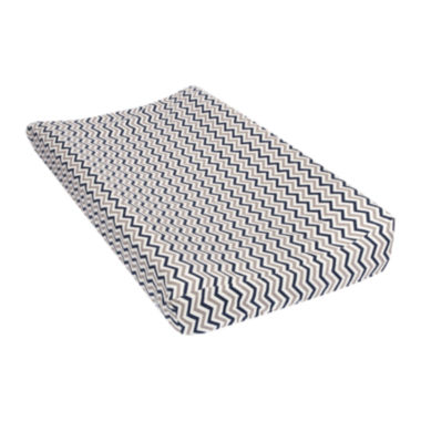 jcpenney.com | Trend Lab® Chevron Flannel Changing Pad Cover - Gray