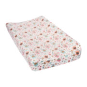 Trend Lab® Playful Elephant Flannel Changing Pad Cover