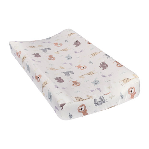 Trend Lab® Crayon Jungle Flannel Changing Pad Cover