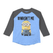 Despicable Me Long-Sleeve Raglan Tee - Boys 8-20