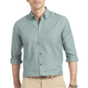 Van Heusen® Long-Sleeve Plaid No-Iron Woven Shirt