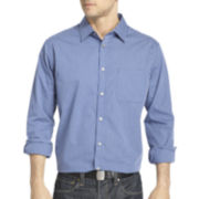 Van Heusen® Ultimate Traveler Blues Patterned Shirt